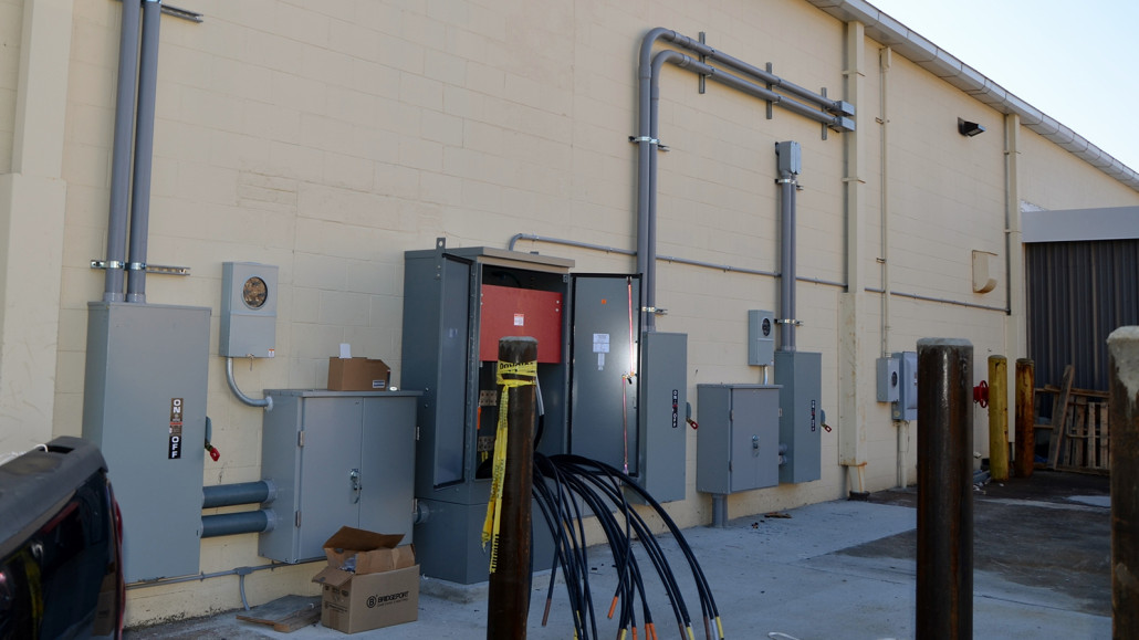 Shopping Plaza  1600 AMP Service  Alpha Electrical Contractors  Inc